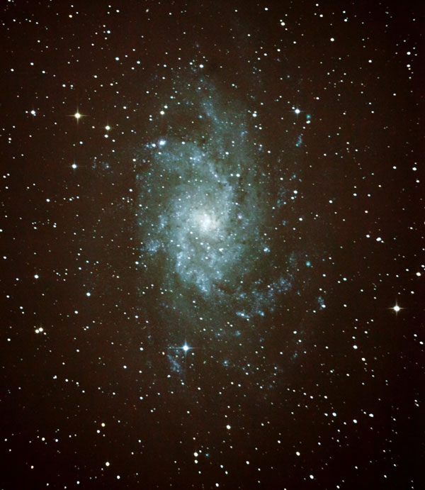 Photo of M33 Triangulum galaxy
