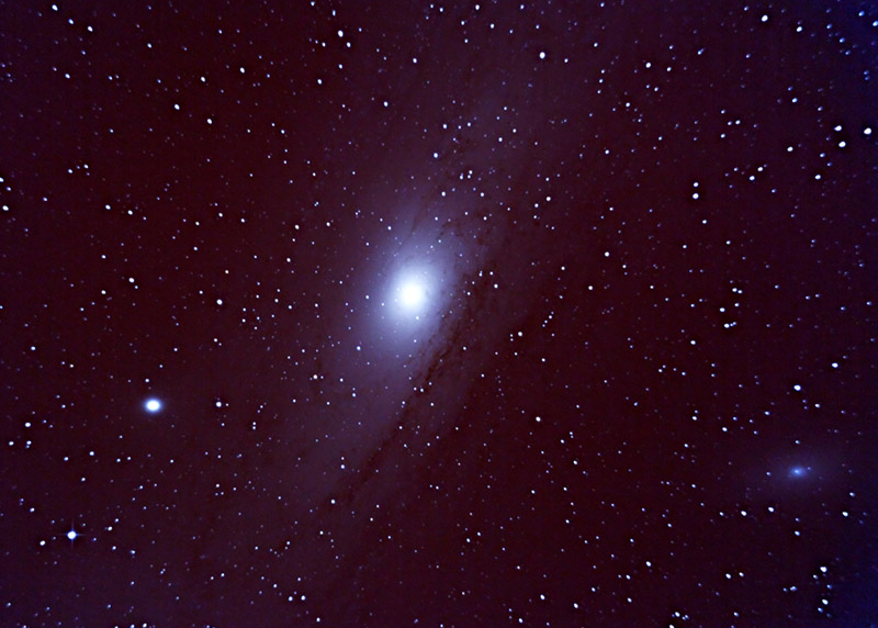Andromeda Galaxy Through Telescope (page 2) - Pics about space